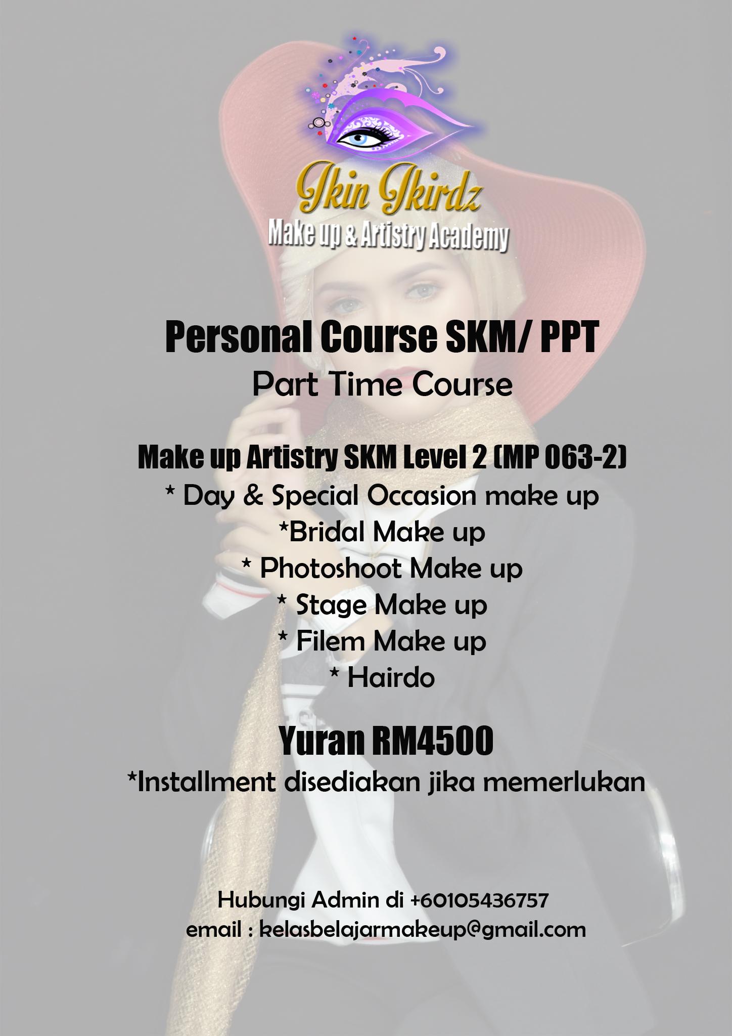 makeup course level2 skm ppt