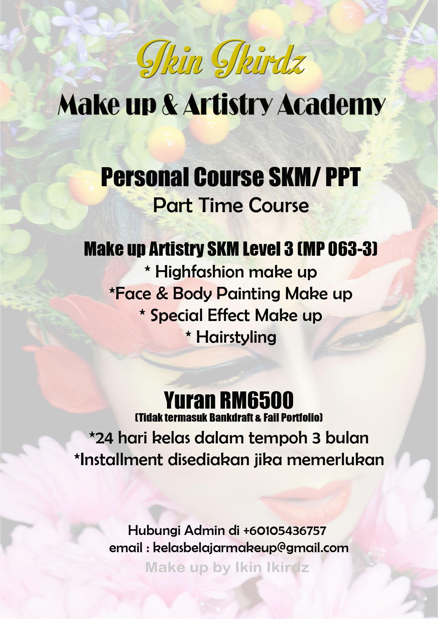 skm3 senior make up artist solekan mua special effect face body painting